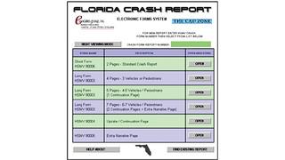 STARS State Crash Report System