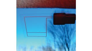 Transparent GPS Antenna