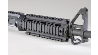 two-piece AR handguard