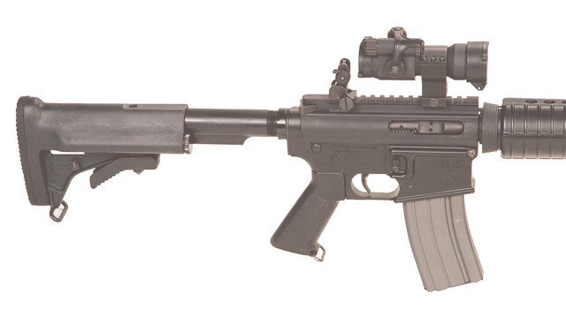 AR15/M16 telescoping stock