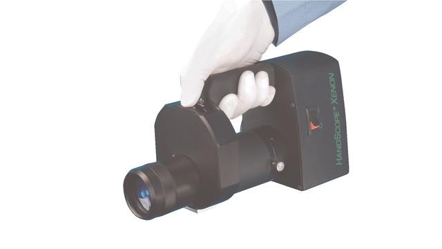 Battery-powerd HandScope