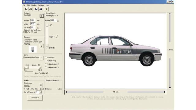 CCTV Viewer Simulation Software, v2.01