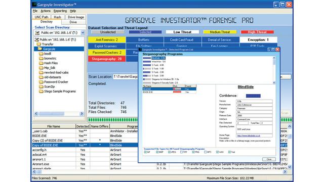 Gargoyle Investigator Version 3.0