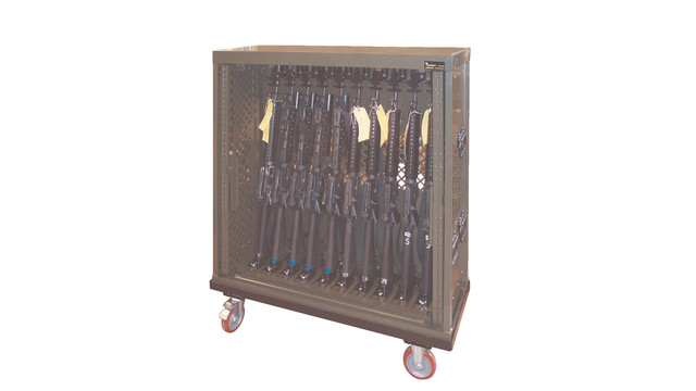 Universal Weapons Rack with Portable Accessories