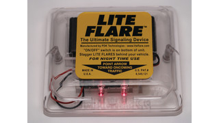 LiteFlare electronic signaling device