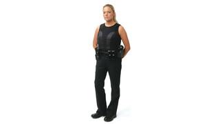 Body armor built for women