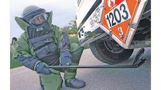 EOD 9A Explosive Ordnance Disposal Helmet