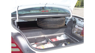 Full Width Trunk Mounting Tray