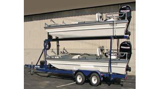 2-boat trailer