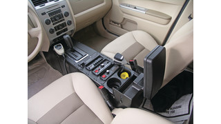 2008 Ford Escape Vehicle Specific Console