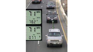 Vehicle distance software