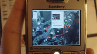 BlackBerry access to Mobile Tactical Collaboration System