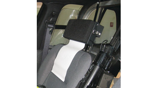 Vehicle headrest (VHR) mount