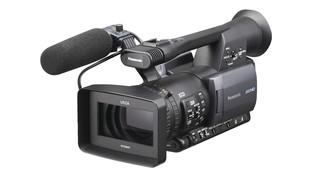 handheld AG-HMC150 camcorder