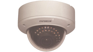 EV-2606-NJEQ and EV-2605-NKEQ Vandal-Resistant Dome Color Cameras
