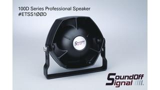 100D Series Professional Speaker