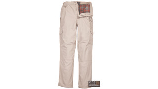 Flannel-lined Tactical Pant