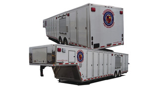 Mass Decontamination & Shower Trailer