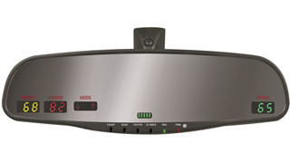 DEI Radar Mirror Display