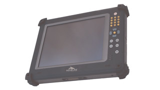 Industrial tablet computer with processor