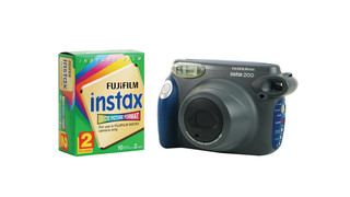 Instax instant film camera