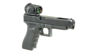 Micro sight handgun mount