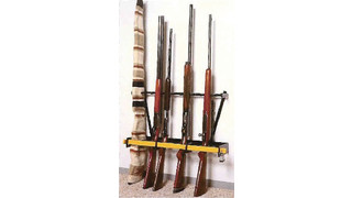 nine gun - rifle/shotgun Rack