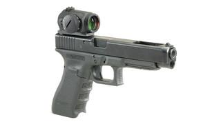 Micro sight handgun mount