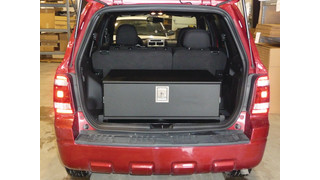 Ford Escape storage drawer