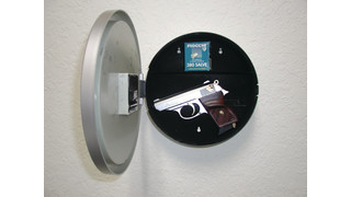 Gun Safe Clock