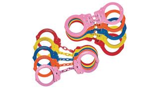 Multi-colored restraint line