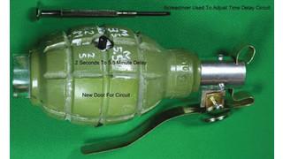 Training hand grenade