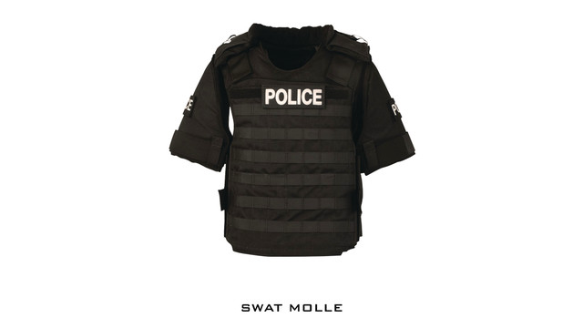 SWAT MOLLE Tactical Armor