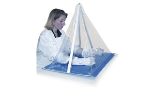 Captair Pyramid Disposable Glove Boxes
