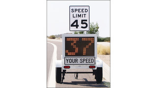 SMART 800+ portable, self-contained speed trailers