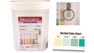 DrugCheck NXScan Onsite Flat Panel Test Cup