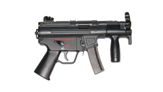 Well MP5K G55 gas blowback airsoft gun