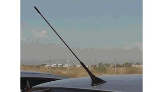 Sweptback Disguised VHF UHF 700/800 Mhz Antenna