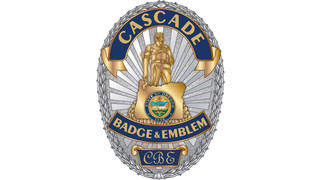 CASCADE BADGE & EMBLEM OF OREGON