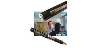 Hi-tech spy-pen video camera