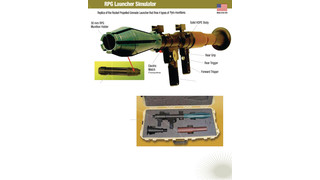 RPG-7 THREAT SUMULATOR