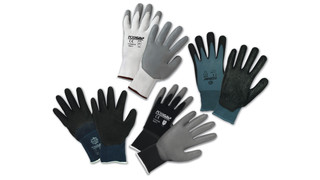 PosiGrip line of nylon or poly/cotton dipped glove