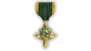 Police Combat Cross Medal