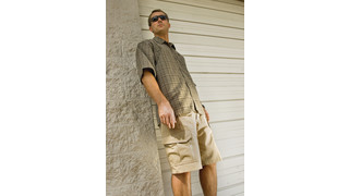 Warrior Wear casual dress shirt and tac shorts