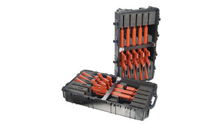 Pelican 1780RF Wheeled Long Case (with Rifle Foam-Cut Insert)
