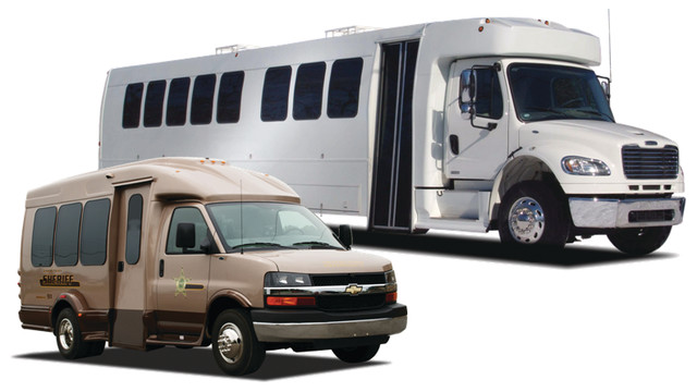 Multi-purpose Vehicles - Command Centers and Prisoner Transporters