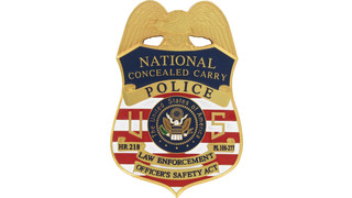 Conceal Carry Badge - HR 218 Badge