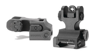 Quick Flip FRS Plus Single Cross Aperture Rear Sight