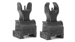 The Quick Flip FFS-EXT - Railed Gas Block Folding Front Sight