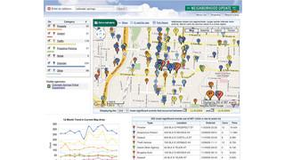 Online Neighborhood Crime Map